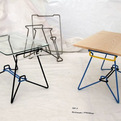 Knocked-down SP-7 Table by Schwab/Panther
