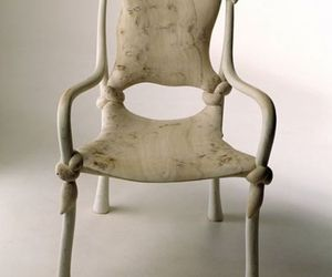 Knot Chair by John Makepeace's