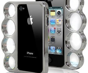 Knuckle Bumper Case For iPhone 4 / 4S