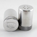 Knurled Aluminum Salt & Pepper Shakers