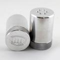 Knurled Aluminum Salt & Pepper Shakers