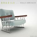 Koala Armchair by Brazile