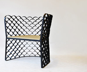 Koi Chair by Jarrod Lim