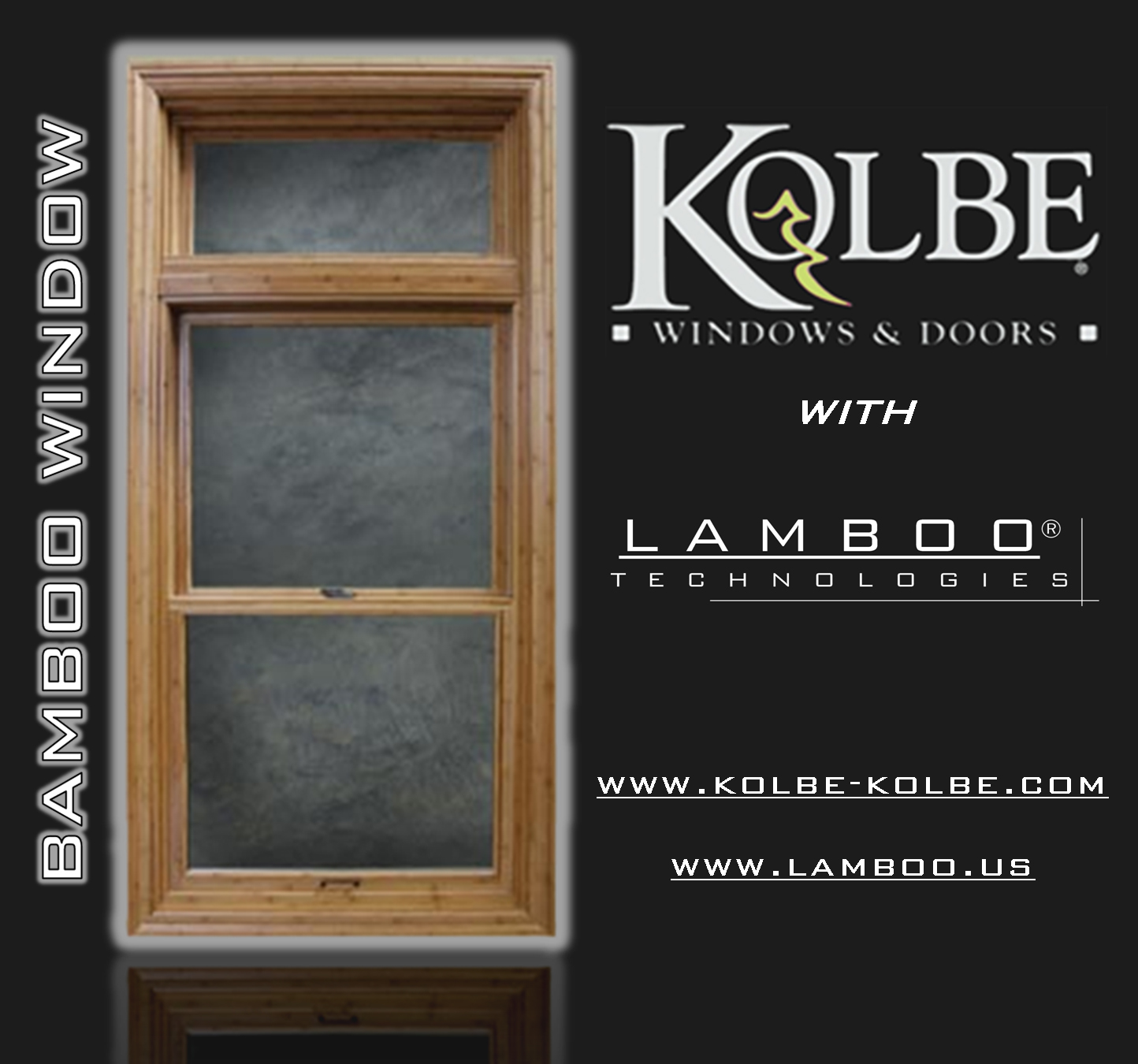 Kolbe Windows kolbe windows introduces bamboo species for windows