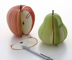 Kudamemo: Fruit Memo Pads by D-BROS