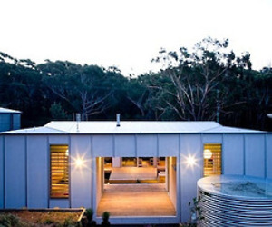 Kurreki House at Seal Rocks by Bourne Blue Architecture