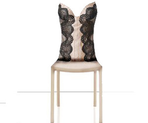 La Perla Creates Bustier Chairs For SensoReal