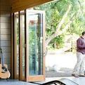 LaCantina Wood Clad Bi-Fold Doors