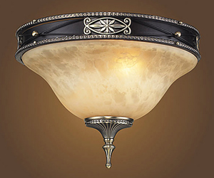Lafayette 2-Light Semi Flush Mount