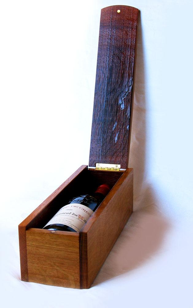 Lamberghini Luxury Wine Gift Box Recycled Barrel