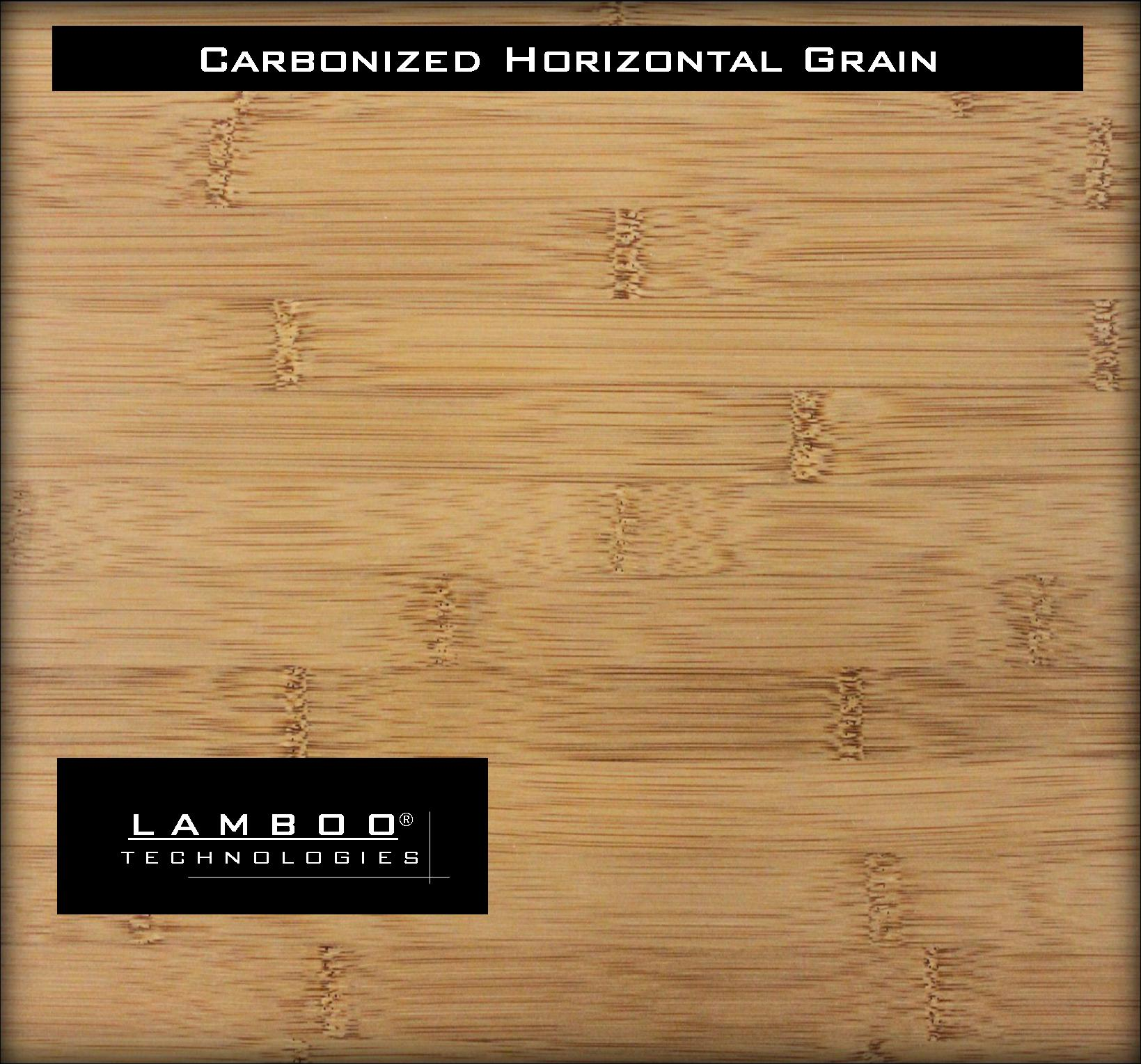 Lamboo Carbonized Horizontal Grain Engineered Bamboo