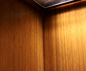 Lamboo Inc - Laminated Bamboo Panels In Elevator Cabs -