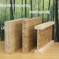 Lamboo Structure - Laminated Bamboo Beams - Sustainable