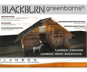 Lamboo® Inc & Blackburn Greenbarns® - Sustainable Barns