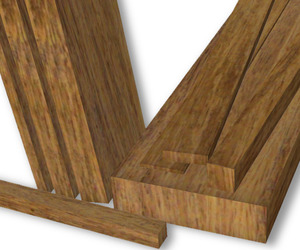 Lamboo® Offers Dimensional Bamboo Lumber