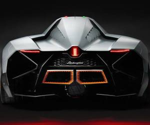 Lamborghini's answer to the Batmobile