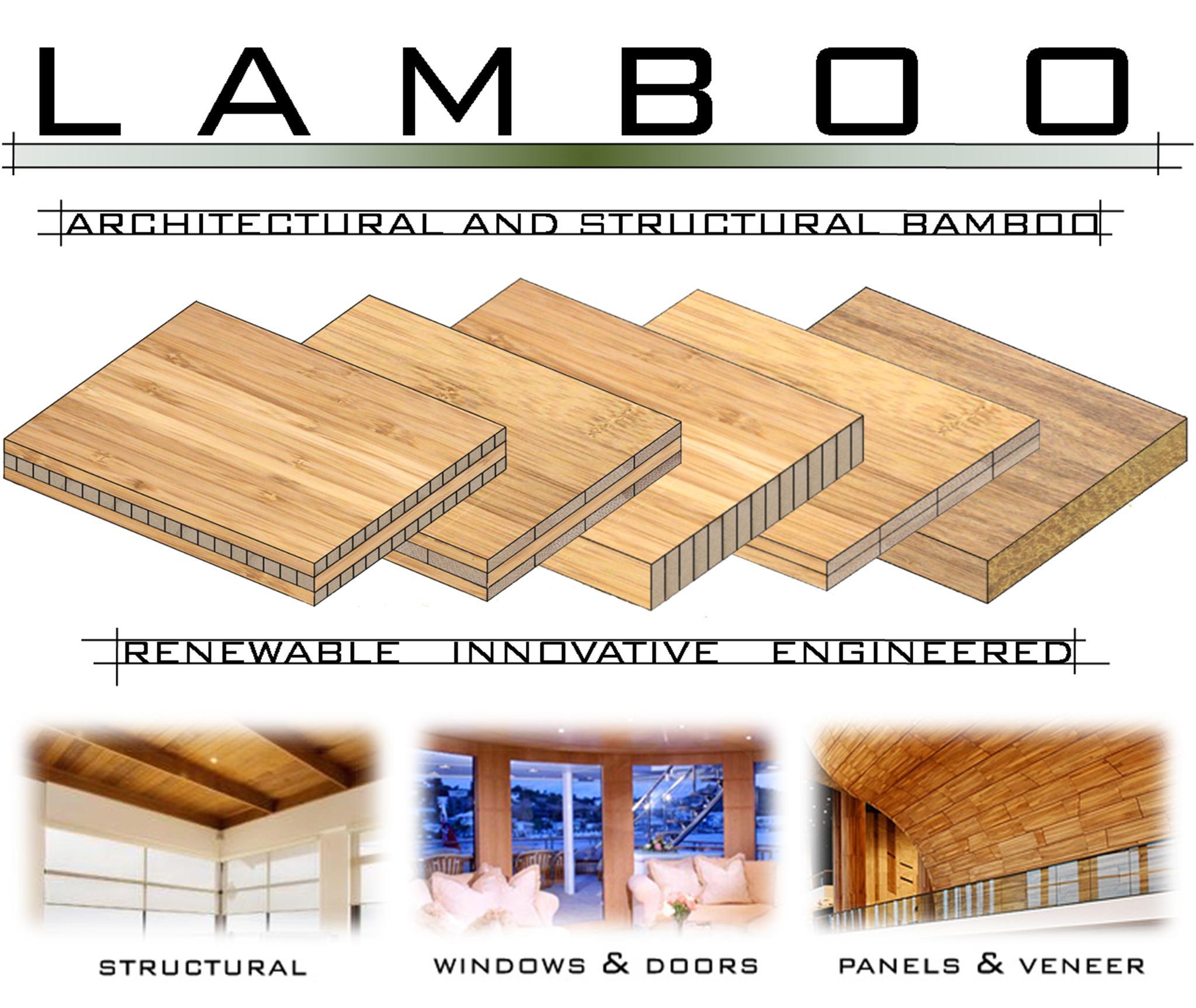 Laminated Bamboo Panels Lamboo 174 Panel Layup Options