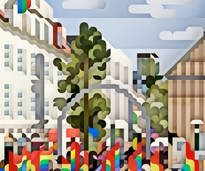 Land/Cityscape Illustrations