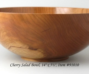 Large one-Piece Cherry Salad Bowl