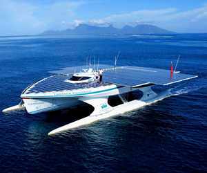 Largest Solar-Powered Boat in the World