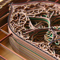 Laser-Cut Paper Art by Eric Standley