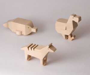 LAST - Wooden Animal Toys by Alburno Shop