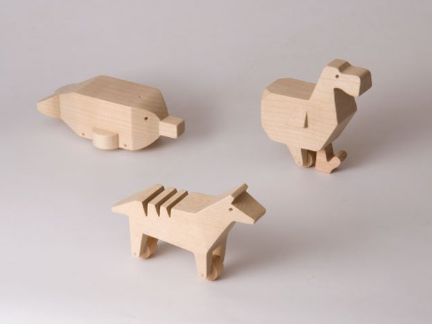 LAST Wooden Animal Toys By Alburno Shop