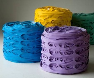 Latex Roll Pouf by Ricrea