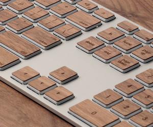 Lazerwood Keys for Apple Extended Keyboard