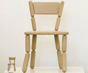 Lazy Miniature Chair by Freshwest
