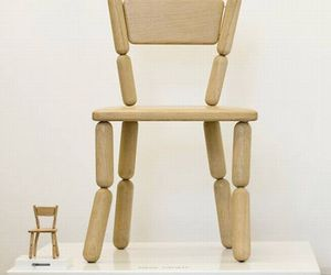 Lazy Miniature Chair by Fresh West