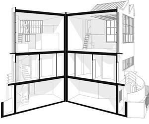 Le Corbusier Redrawn by Steven Park | BUILD Blog