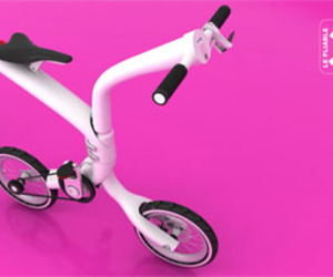 LE Pliable Folding Bike Modern Style
