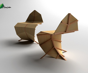 Leaf Chair by Milos Jovanovic