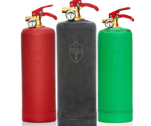 Leather Bound Fire Extinguishers from SAFE-T