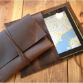 Leather iPad Envelope