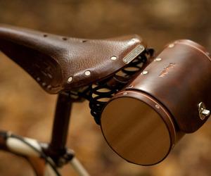 Leather Seat Barrel Bag