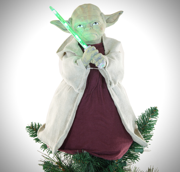 Led Lightsaber Yoda Tree Tropper