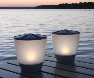 LED Solar Lights by Onø Design for Bockia