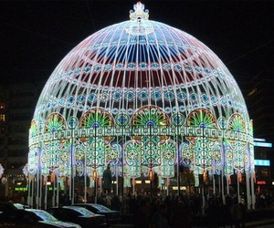 LED Structure by Luminarie De Cagna