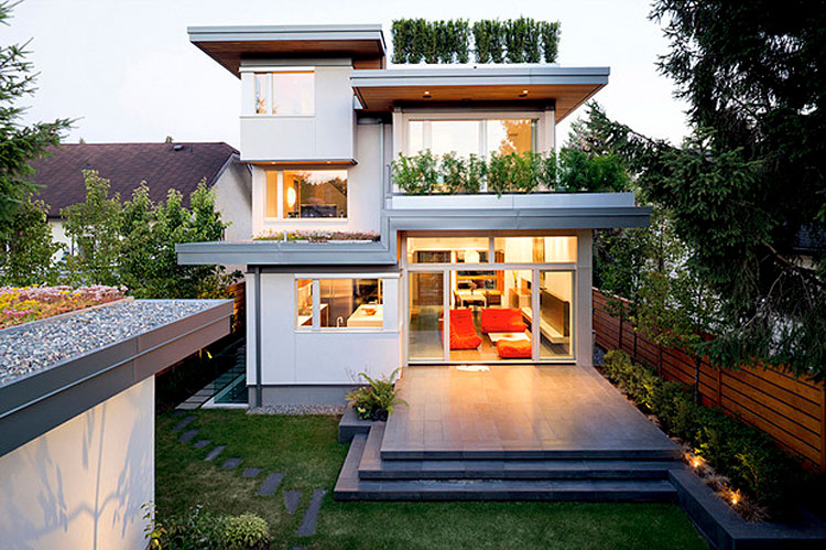 Leed platinum residence in vancouver for Leed cabins