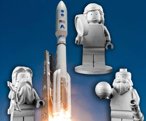 LEGO and NASA send Minifigs To Space