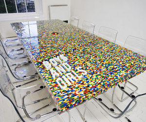 LEGO Boardroom Table