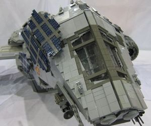 Lego Firefly's Serenity is incredible feat of Lego