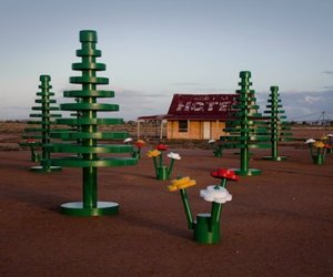LEGO forest