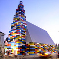 Lego Like Church In The Netherlands