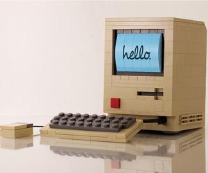LEGO Replica of the Original Macintosh Computer