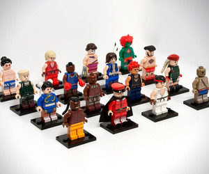 LEGO Street Fighter Mini Figure Set