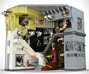 LEGO x Star Wars M.C Escher Diorama