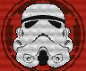 LEGO x Star Wars Mosaics by Douglas Bagnall